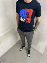 Load image into Gallery viewer, Luxe Icarus Navy T-Shirt
