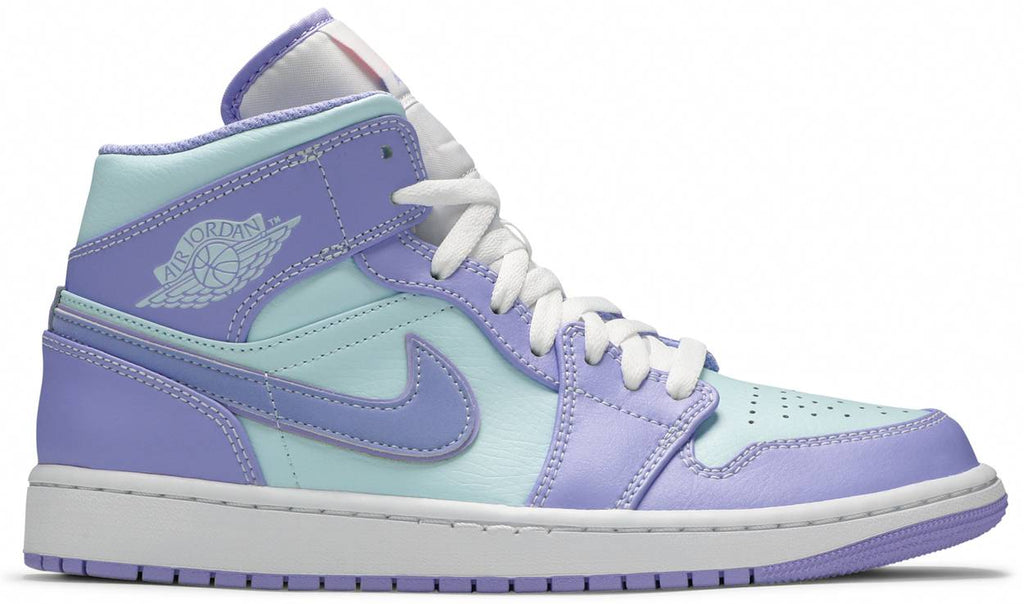 Air Jordan 1 Mid 'Purple Pulse Glacier Blue'