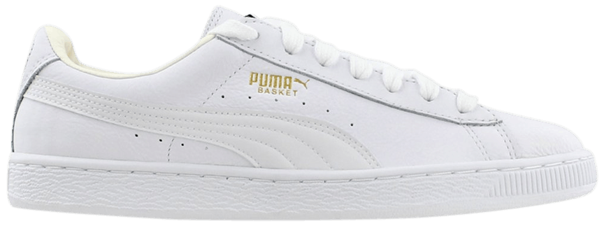Puma Heritage Basket Classic Sneakers(white-white)