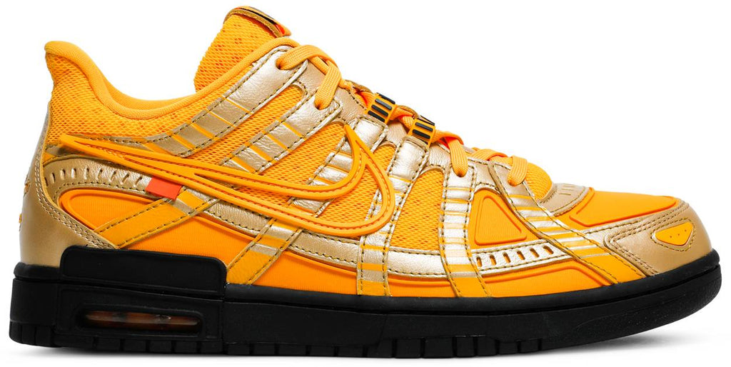 Off-White x Air Rubber Dunk 'University Gold'