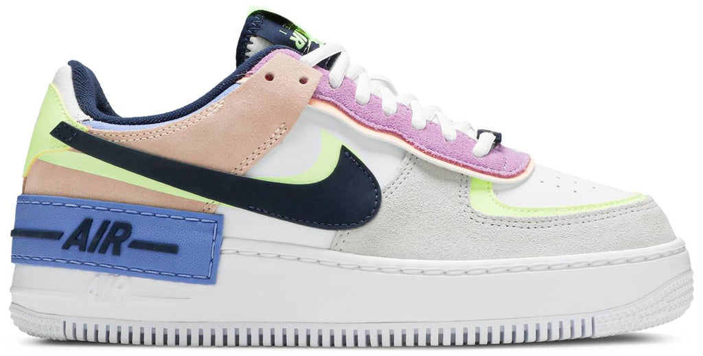 Wmns Air Force 1 Shadow 'Crimson Tint Volt'
