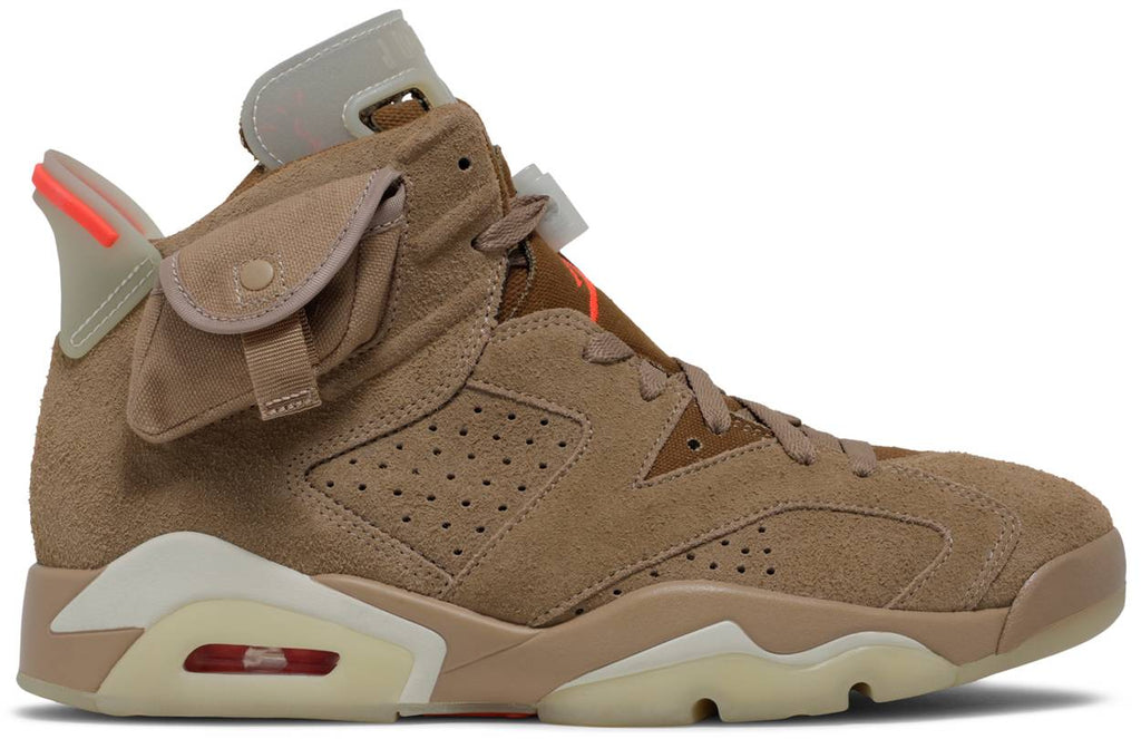 Travis Scott x Air Jordan 6 Retro 'British Khaki'