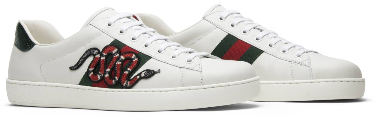 Gucci Ace Embroidered 'Snake'