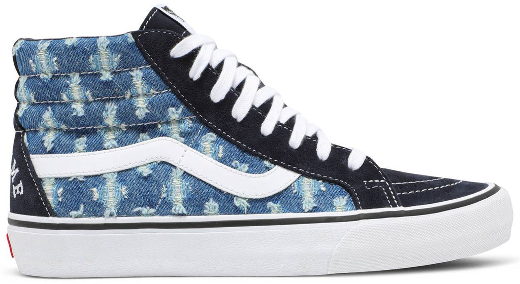 Supreme x Sk8-Hi 'Blue Hole Punch Denim'