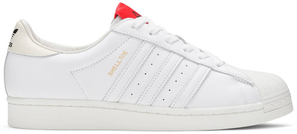 424 x Superstar Shell Toe 'White Scarlet'