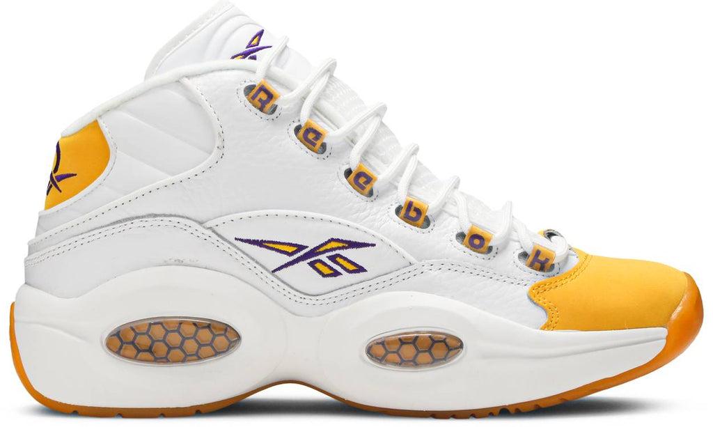 Reebok Question Mid 'Yellow Toe'