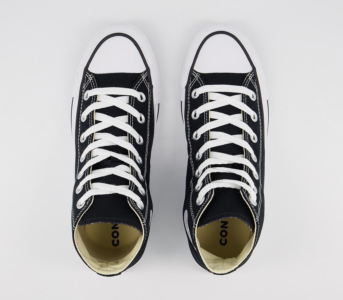 All Star High Trainers Black Converse