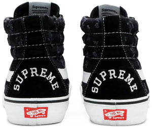 Supreme x Sk8-Hi 'Black Hole Punch Denim'