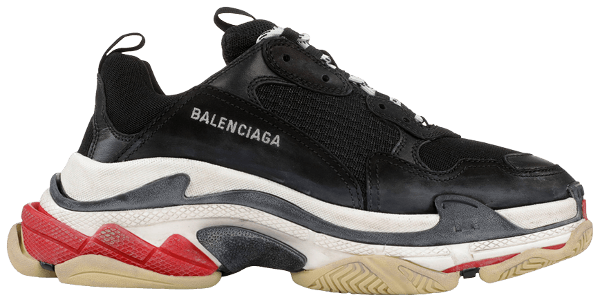 BALENCIAGA Black Triple S
