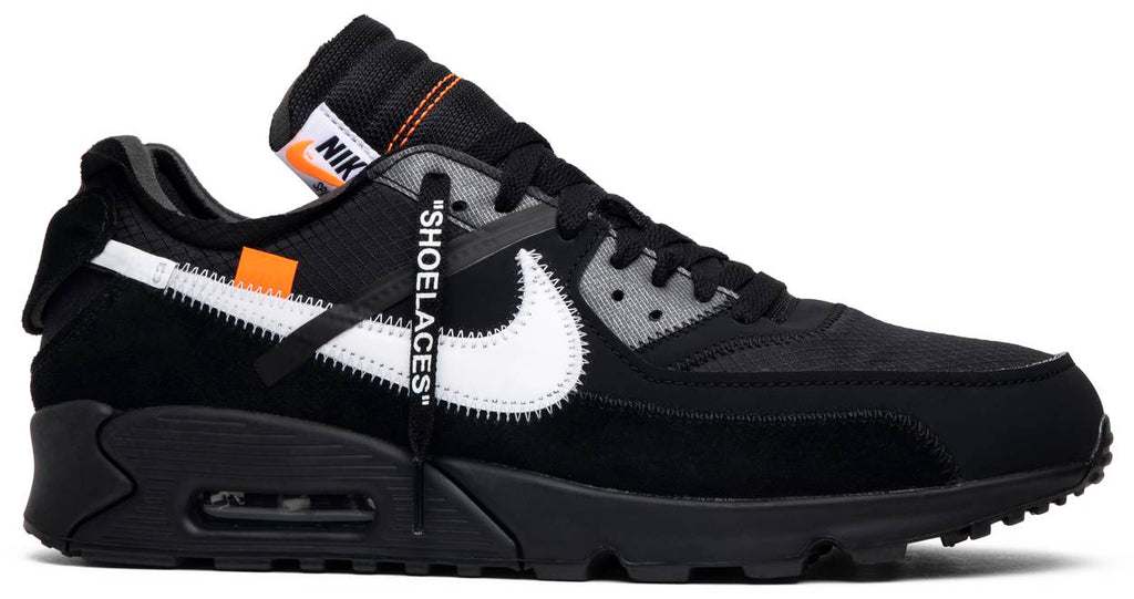 Off-White x Air Max 90 'Black'