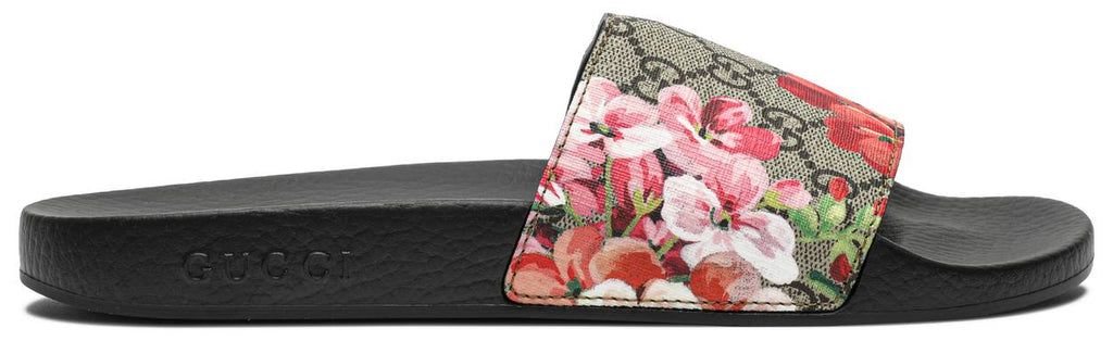 Gucci Wmns GG Supreme Slide 'Blooms'