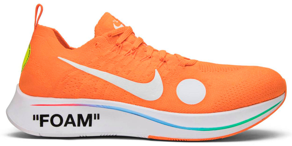 Off-White x Zoom Fly Mercurial Flyknit 'Total Orange'