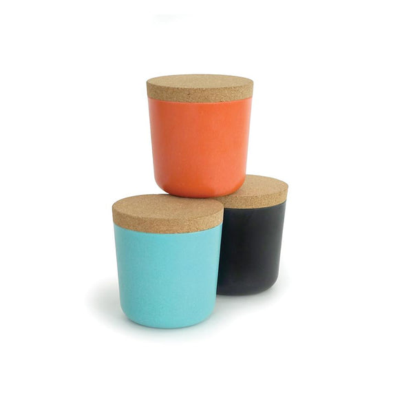 Bamboo Small Storage Jar Set - Sunset
