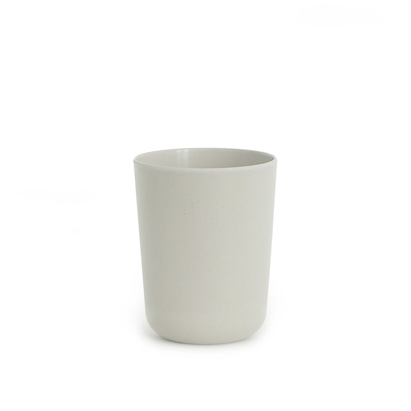Bamboo Toothbrush Holder / Bathroom Cup - Stone