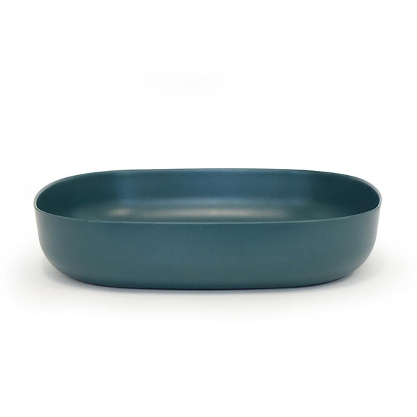 Bamboo Large Serving Dish - Blue Abyss