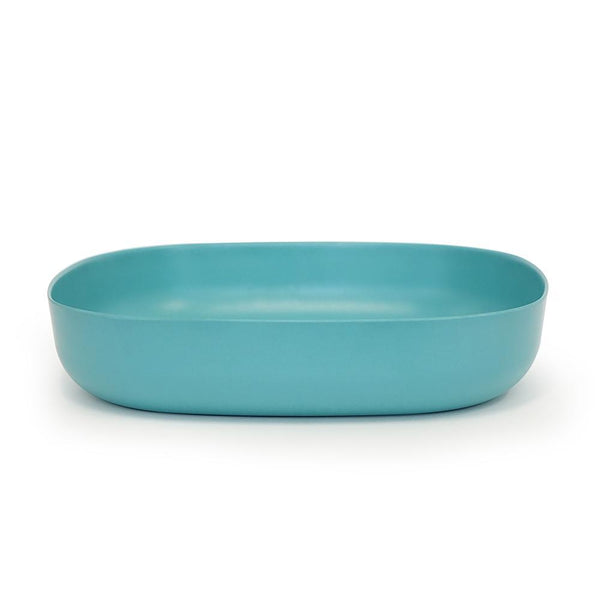 Bamboo Large Serving Dish - Lagoon