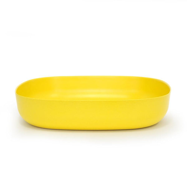Bamboo Large Serving Dish - Lemon