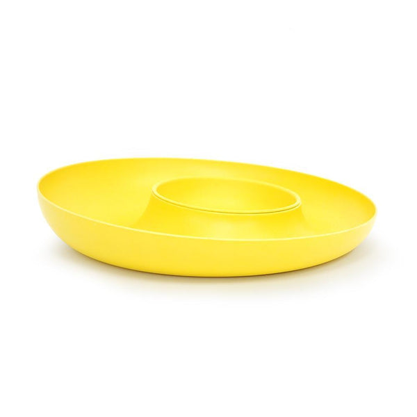 Bamboo Chip & Dip Set - Lemon