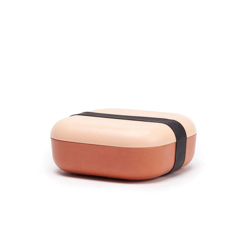 Bamboo Fiber Snack Box - Blush / Terracotta