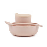 Bamboo Baby Feeding Set - Blush