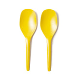 Bamboo Salad Tongs - Lemon