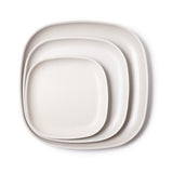 Bamboo Dinner Plate - 4 Piece Set - Stone
