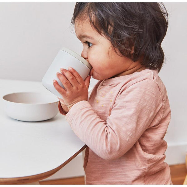 Bamboo Baby Feeding Set - Cloud