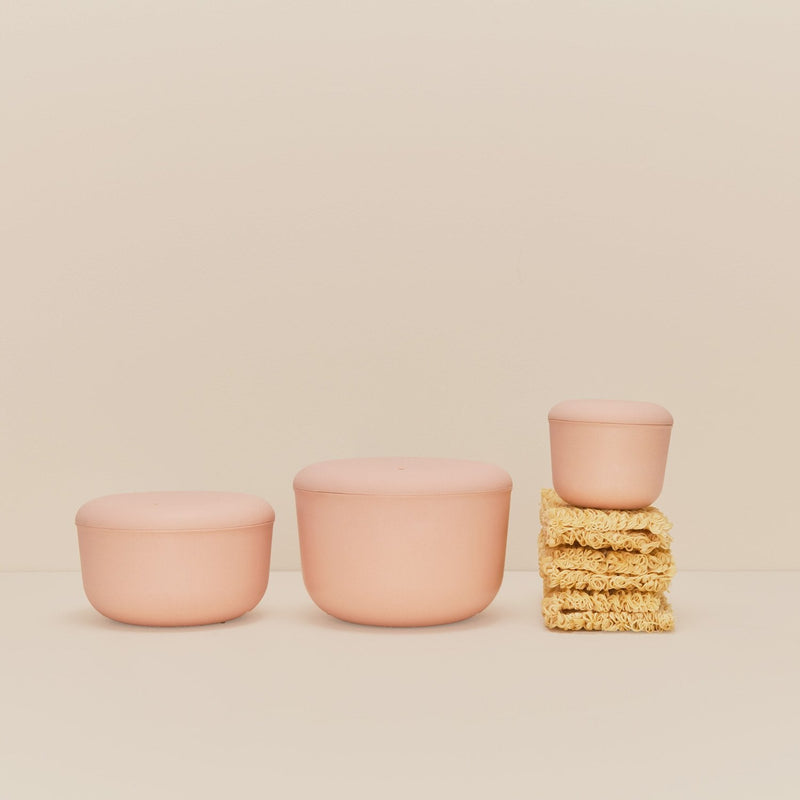 40 oz Store & Go Food Container - Blush