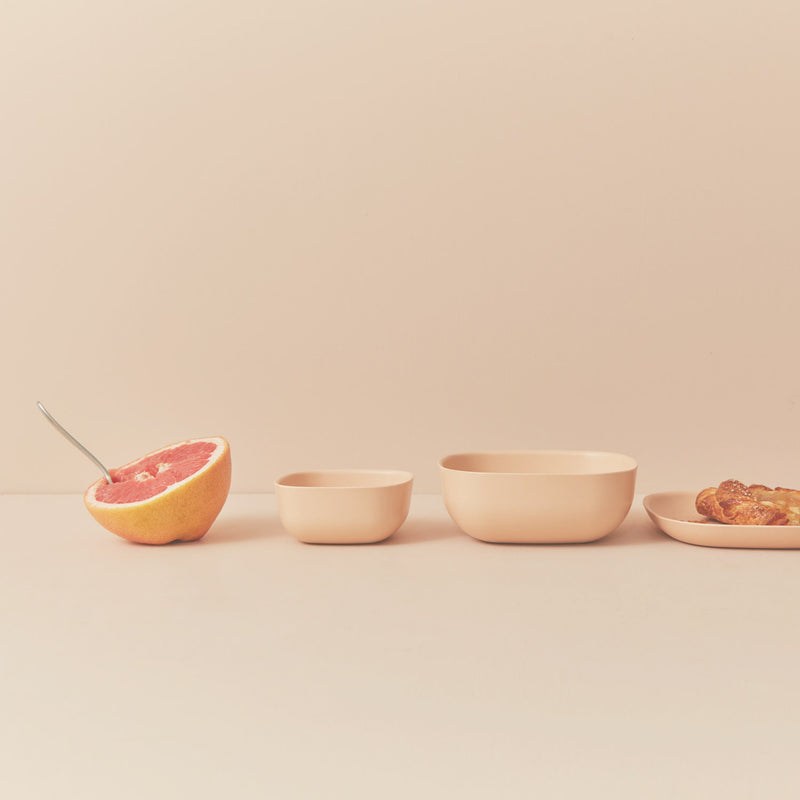 Bamboo Small Bowl - 4 Piece Set - Blush