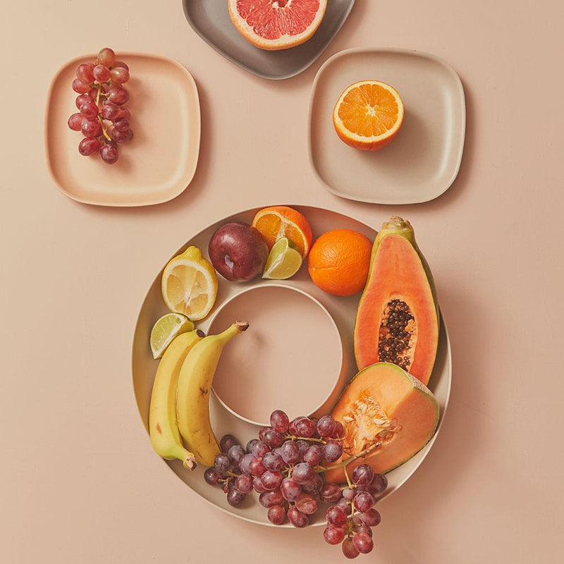 Bamboo Fruit Bowl - Off White