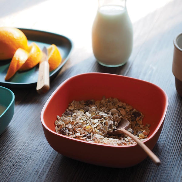 Bamboo Cereal Bowl - Persimmon