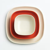 Bamboo Cereal Bowl - 4 Piece Set- Persimmon