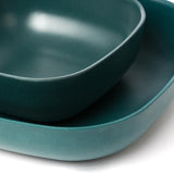 Bamboo Cereal Bowl - 4 Piece Set - Blue Abyss