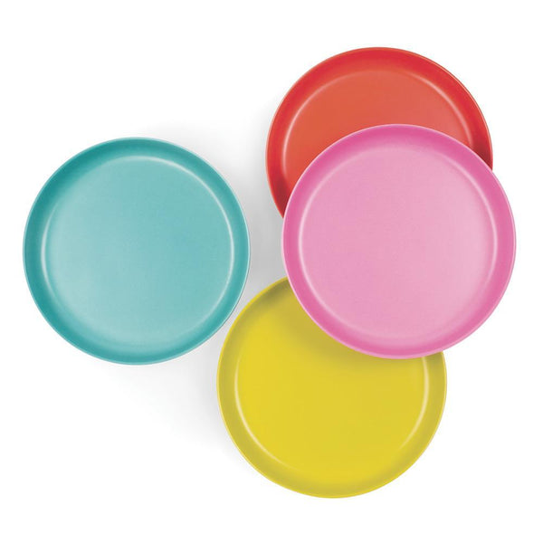 Bamboo Kids Plate Set - Pop