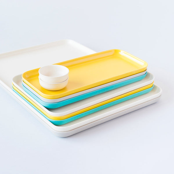 Bamboo Small Tray - Lemon