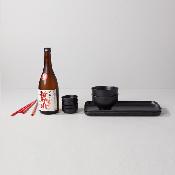 Sushi Set for 2 - Black