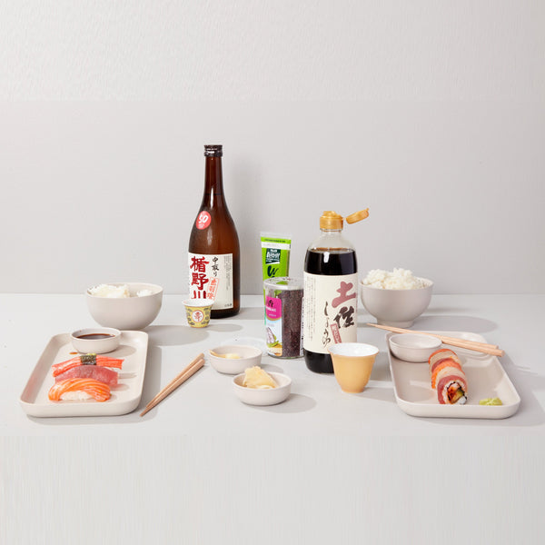 Sushi Set for 2 - White