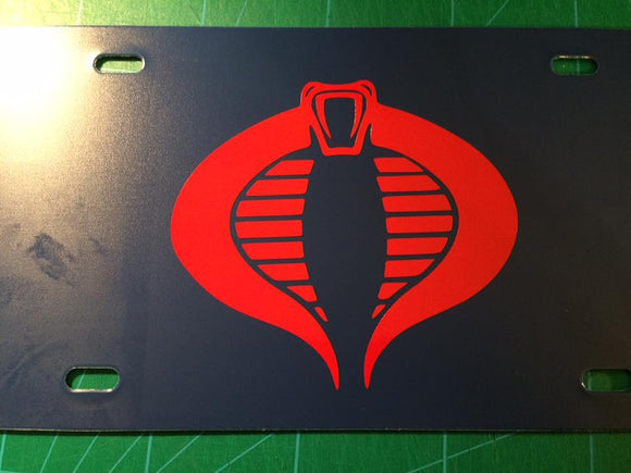 G.I. Joe: Cobra License Plate