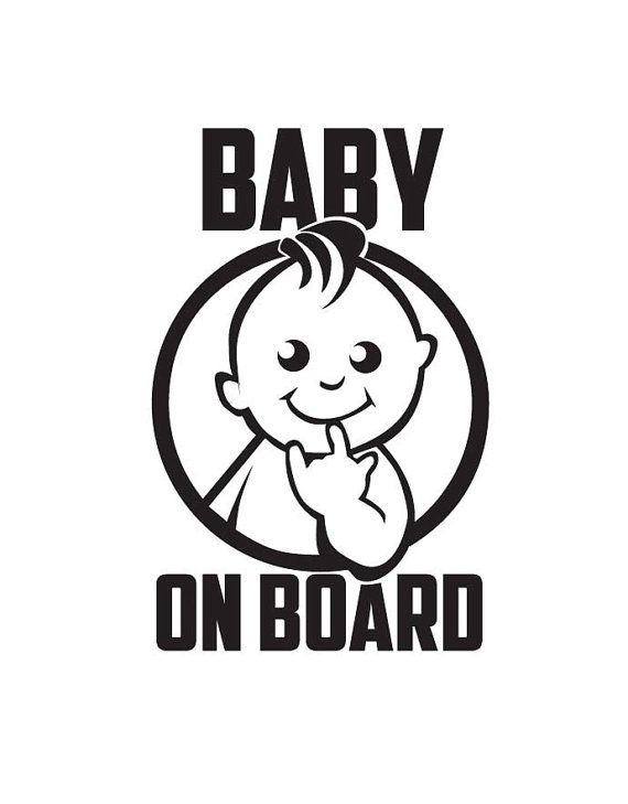 Baby on Board Rock Symbol