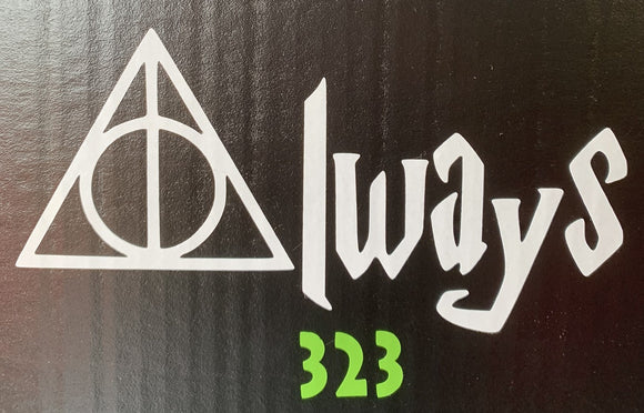 Harry Potter Always Vinyl Decal