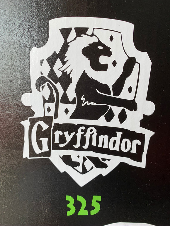 Harry Potter- House of Gryffindor Decal