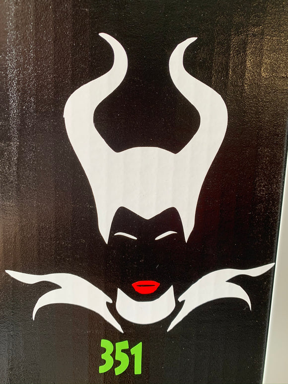 Maleficent Vinyl Decal