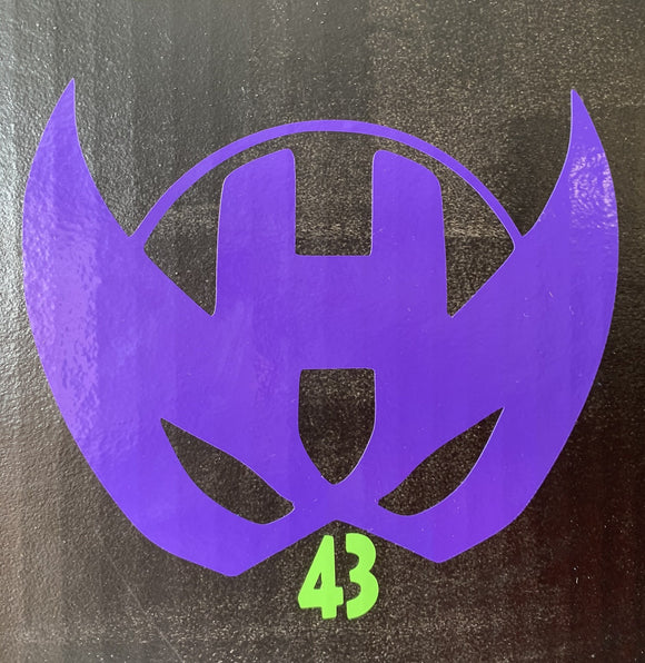 Hawkeye Logo Vinyl Decal
