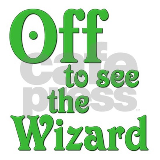 Off To See the Wizard Vinyl Decal