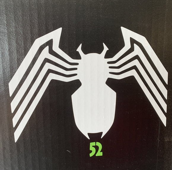 Amazing Spiderman Logo Vinyl Decal