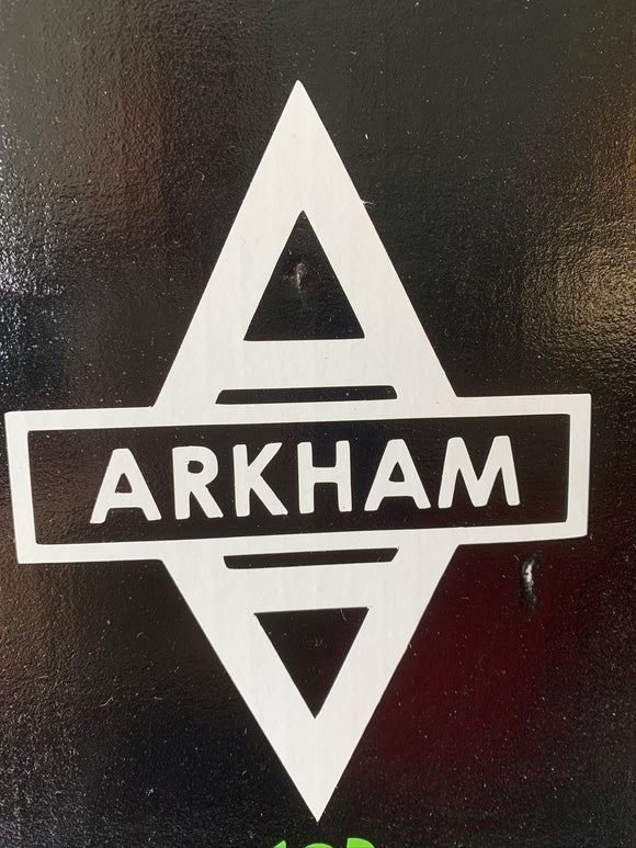 Arkham Asylum Vinyl Decal
