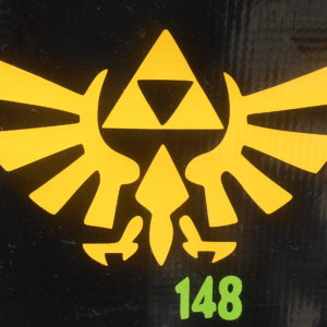 Zelda Vinyl Decal
