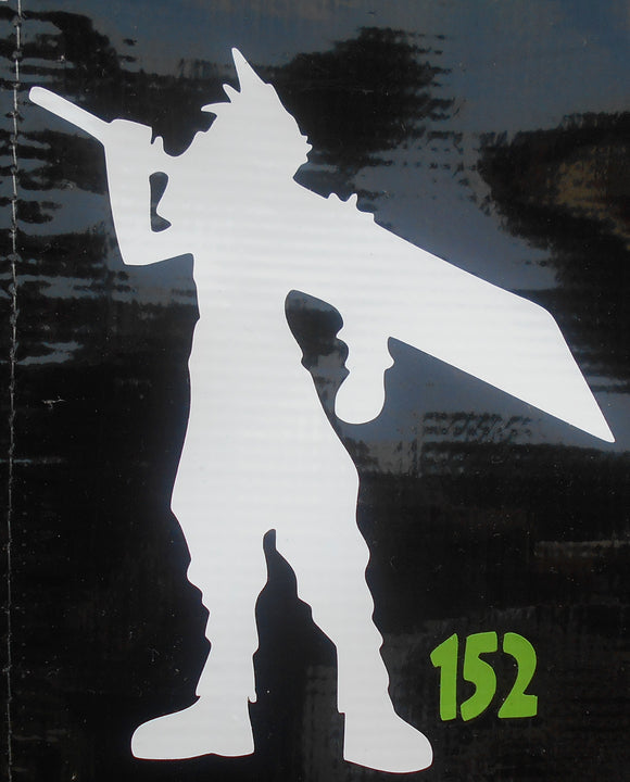 Final Fantasy Cloud vinyl decal