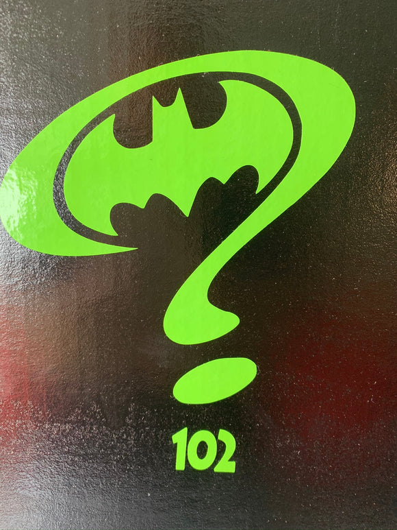 Batman & Riddler Logo Vinyl Decal