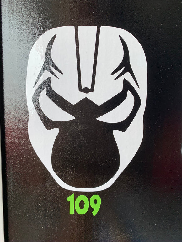 Classic Bane Mask Vinyl Decal
